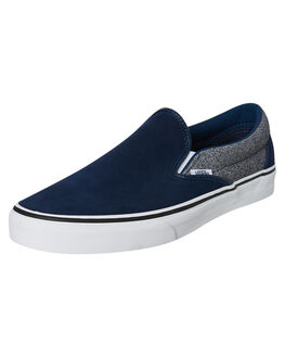 DRESS BLUES MENS FOOTWEAR VANS SLIP ONS - VNA4BV3V9EDBLU