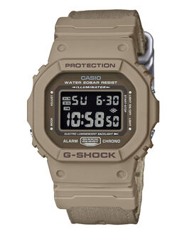 TAN CAMO MENS ACCESSORIES G SHOCK WATCHES - DW5600LU-8JTANCM