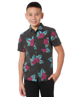 BLACK KIDS BOYS RIP CURL TOPS - KSHNS10090