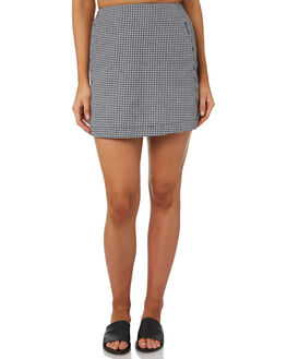 GINGHAM WOMENS CLOTHING ALL ABOUT EVE SKIRTS - 6405082CHK