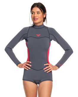 DEEP GREY/SCARLET BOARDSPORTS SURF ROXY WOMENS - ERJW403014-XKKM