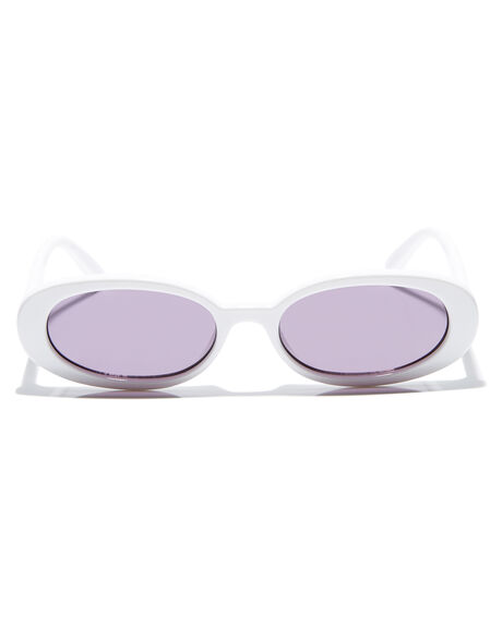 OPTIC WHITE WOMENS ACCESSORIES LE SPECS SUNGLASSES - LSP1802499OWH
