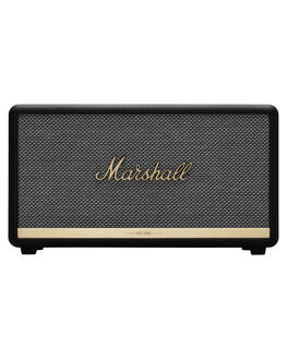 BLACK MENS ACCESSORIES MARSHALL AUDIO + CAMERAS - 155688BLK