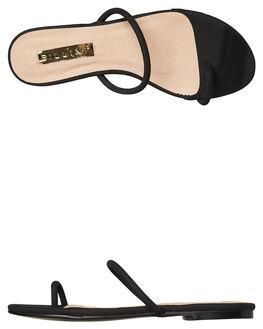 BLACK NUBUCK WOMENS FOOTWEAR BILLINI FASHION SANDALS - S563BLK