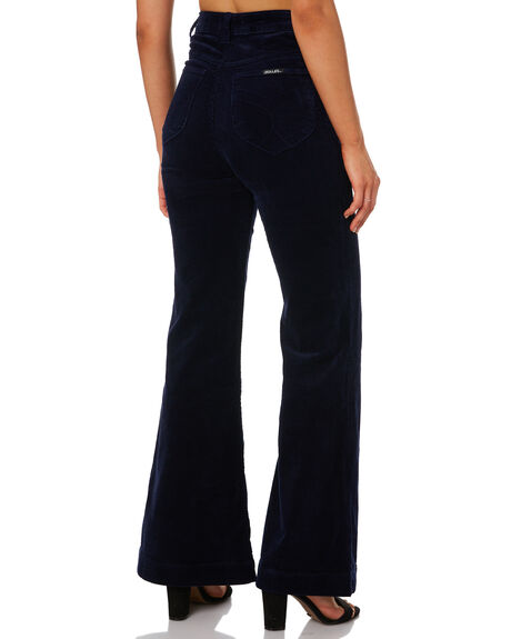 MIDNIGHT CORD WOMENS CLOTHING ROLLAS JEANS - 126003773