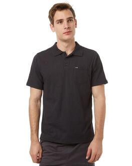 BLACK MENS CLOTHING HURLEY SHIRTS - MKT000545000A