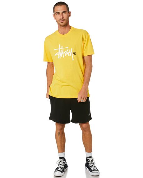 YELLOW MENS CLOTHING STUSSY TEES - ST002012YELLO