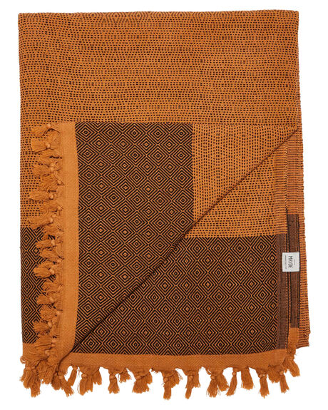 MUSTARD WOMENS ACCESSORIES MAYDE TOWELS - 19TREAMUSBMUS