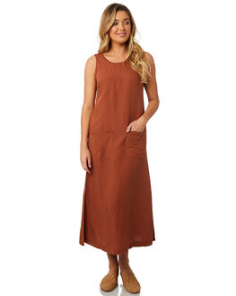RUST WOMENS CLOTHING SWELL DRESSES - S8184454RUST