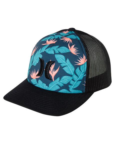 0c3900b0471e9 Hurley Hanoi Icon Trucker Hat - Black