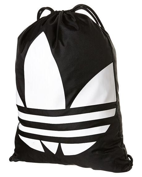 66328592102b Adidas Gymsack Trefoil Backpack - Black White
