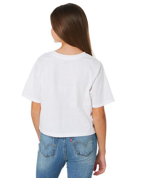 WHITE KIDS GIRLS LEVI'S TOPS - 37391-0200WHT