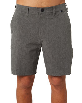 BLACK HEATHER MENS CLOTHING HURLEY SHORTS - 895085032