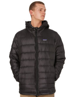 BLACK MENS CLOTHING PATAGONIA JACKETS - 84902BLK