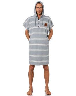 INDIGO MENS ACCESSORIES SLOWTIDE TOWELS - ST257IND