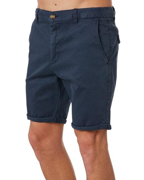 NAVY MENS CLOTHING ACADEMY BRAND SHORTS - 19S608NVY
