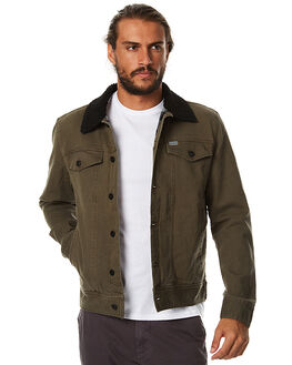 BROWN MENS CLOTHING CAPTAIN FIN CO. JACKETS - CFM0741500BRN