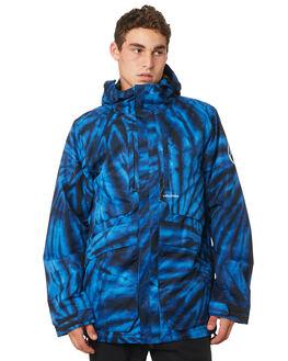 BLUE TIE DYE BOARDSPORTS SNOW VOLCOM MENS - G0451905BTD