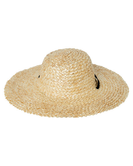 NATURAL WOMENS ACCESSORIES LACK OF COLOR HEADWEAR - DOLCESUN1NAT