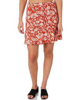 FLORAL FIELDS WOMENS CLOTHING ALL ABOUT EVE SKIRTS - 6453016PRNT