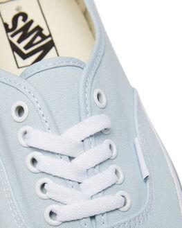 BABY BLUE WOMENS FOOTWEAR VANS SNEAKERS - SSVNA38EMQ6KBBLUW