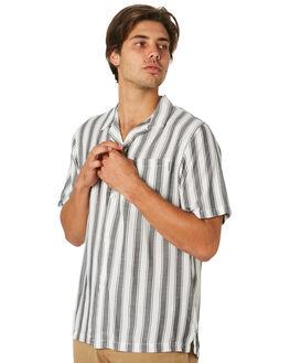 ESPER STRPE  BLK WAX MENS CLOTHING CARHARTT SHIRTS - I02629689