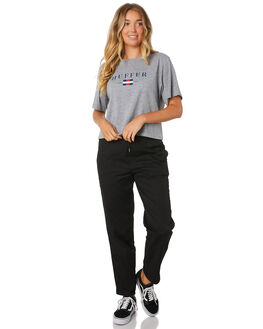 GREY MARLE WOMENS CLOTHING HUFFER TEES - WTE91S42-222GRY