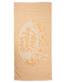 SUNFLOWER WOMENS ACCESSORIES O'NEILL TOWELS - 4722201SNFL