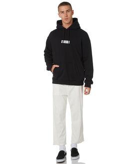 WASHED BLACK MENS CLOTHING MISFIT JUMPERS - MT095202WSBLK