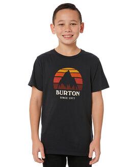 TRUE BLACK HEATHER KIDS BOYS BURTON TEES - 179541001
