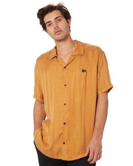 MUSTARD MENS CLOTHING STUSSY SHIRTS - ST092400MUSTARD