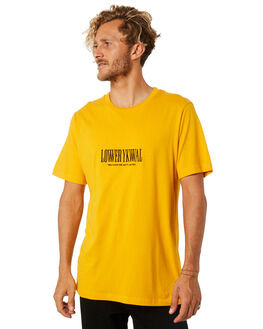 GOLD MENS CLOTHING LOWER TEES - LO18Q4MTS07GLD