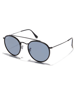 BLACK GREY UNISEX ADULTS RAY-BAN SUNGLASSES - 0RB3647N002R5