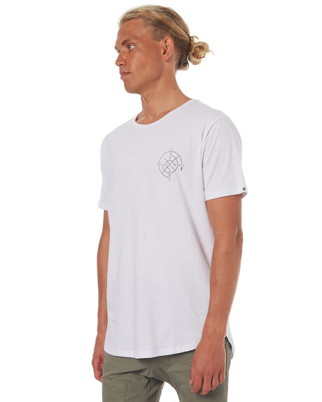 WHITE MENS CLOTHING SILENT THEORY TEES - 4001016WHT