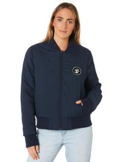 NAVY WOMENS CLOTHING RIP CURL JACKETS - GJKAB90049