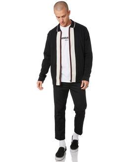 BLACK MENS CLOTHING MISFIT JACKETS - MT096401BLK