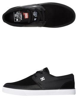 BLACK MENS FOOTWEAR DC SHOES SNEAKERS - ADYS300241001