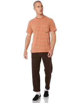 RUST MENS CLOTHING THE CRITICAL SLIDE SOCIETY TEES - TE18177RUST