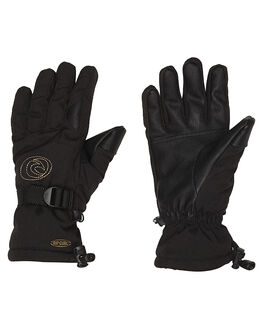 JET BLACK BOARDSPORTS SNOW RIP CURL GLOVES - SGGAB44284