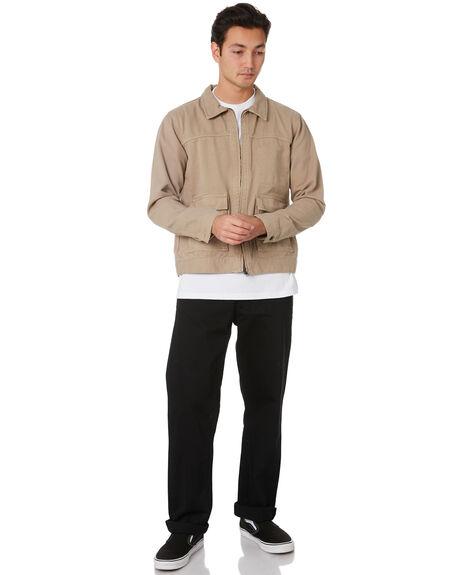 KHAKI MENS CLOTHING DR DENIM JACKETS - 2031123699KHAKI