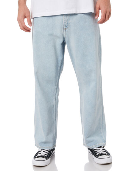 SUPERLIGHT BLUE MENS CLOTHING DR DENIM JEANS - 2110102F94SPBL