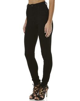 SONIC BLACK WOMENS CLOTHING WRANGLER JEANS - W-097742-R03SON