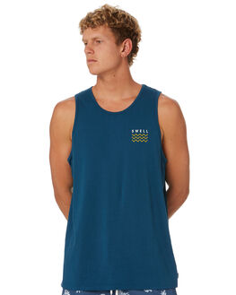 BLUE BOTTLE MENS CLOTHING SWELL SINGLETS - S5202279BLBOT