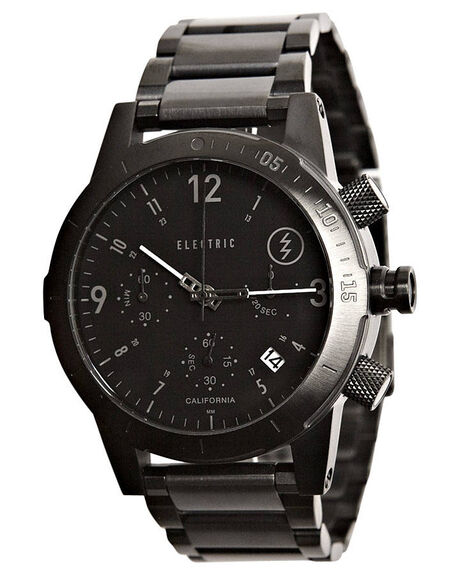 ALL BLACK MENS ACCESSORIES ELECTRIC WATCHES - EW0020010005