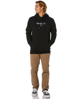 BLACK MENS CLOTHING VOLCOM JUMPERS - A4112002BLK