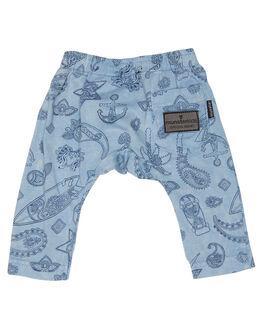 WASHED BLUE KIDS BABY MUNSTER KIDS CLOTHING - MI181PA04WBLU