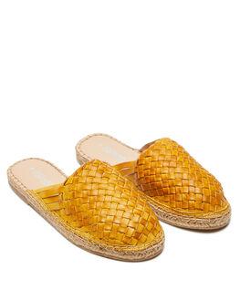 MUSTARD WOMENS FOOTWEAR HUMAN FOOTWEAR SLIDES - COLETTEMUST
