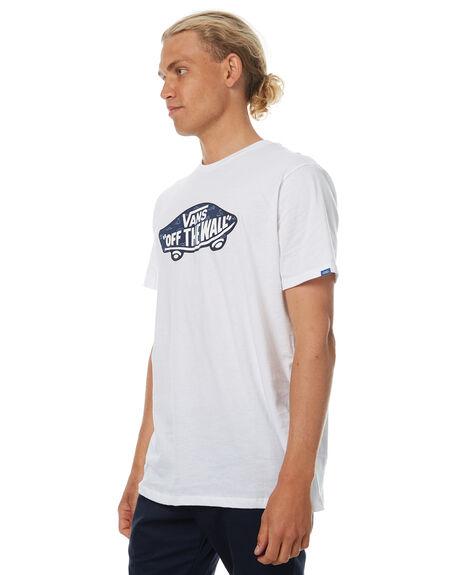 WHITE MENS CLOTHING VANS TEES - VN002O0O5YWHT