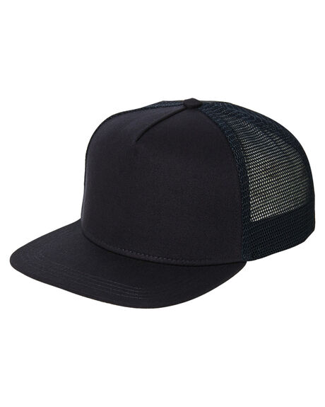 NAVY MENS ACCESSORIES AS COLOUR HEADWEAR - 1108NVY