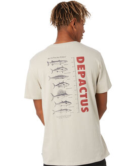 PUTTY MENS CLOTHING DEPACTUS TEES - D5204003LTGMA